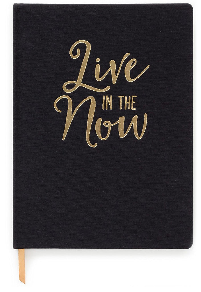 Live In The Now Cloth Black Journal