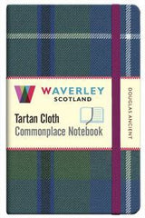 Tartan Cloth Notebook - Douglas Ancient