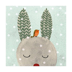 Bunny and Friend Christmas Fayre Pack of Cards