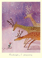 Rudolph, I Presume Christmas Card