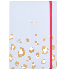 Busy B Busy Life Notebook A5 Leopard