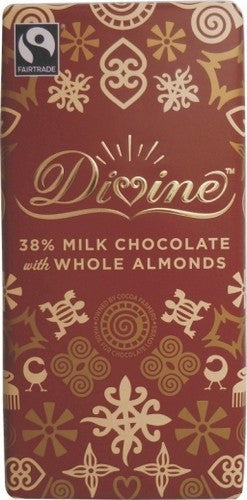 Divine Whole Almond Milk Chocolate