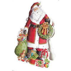 Advent Pop Up Santa Claus