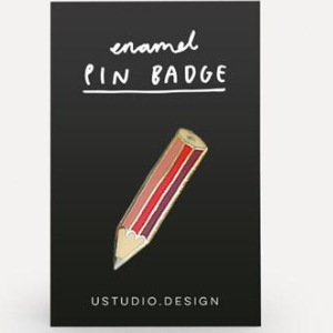 Pin Badge - Pencil
