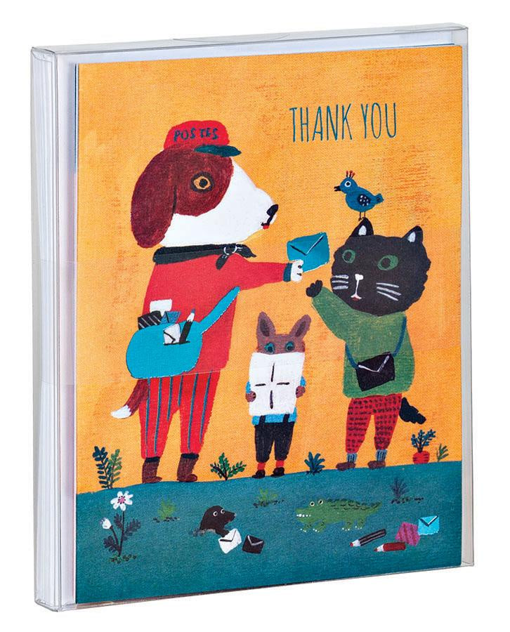 Doggy Thank you Card Pack