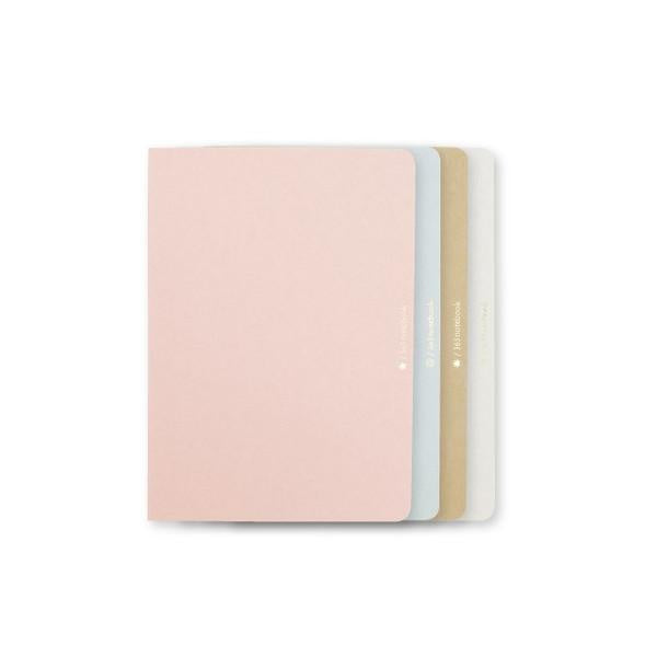 Set of 4 Japanese Paper Notebooks