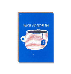You're My Cup Of Tea Mini Valentine's Day Card