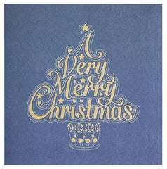 A Very Merry Christmas Tree Card