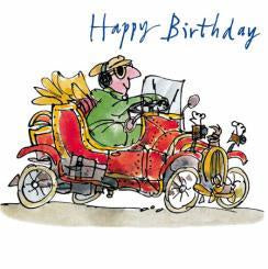 Driver Happy Birthday Card