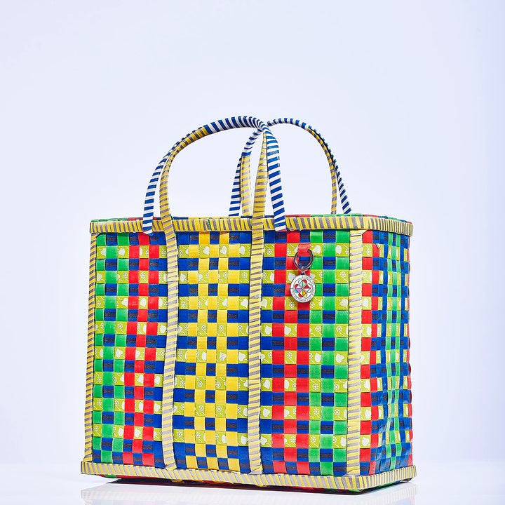 Small Mowgs Recycled Hand Woven Wag Basket