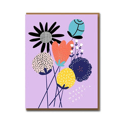 Bouquet For Mum Card