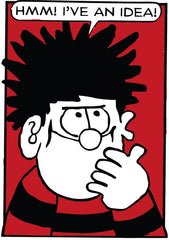 Dennis The Menace Idea Blank Card