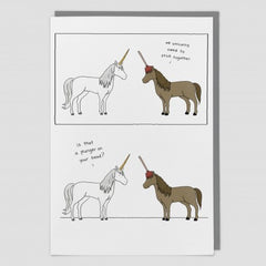 We Unicorns Need to Stick Together Card