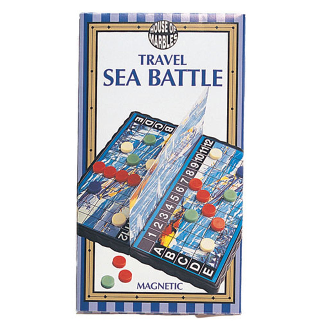 Magnetic Travel Sea Battle Game