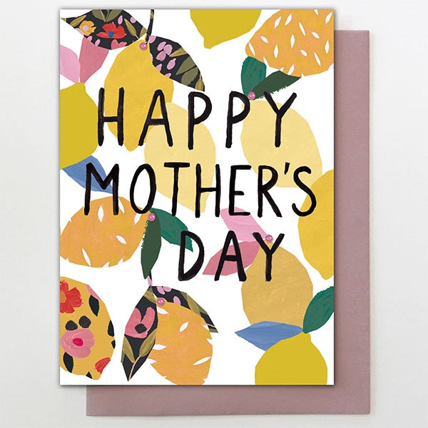 Mother's Day Lemons Card
