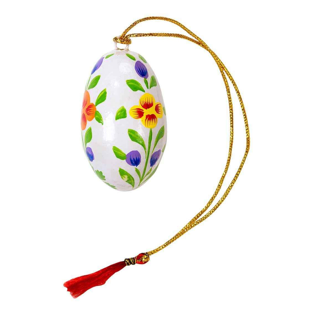 White Easter Egg Decoration