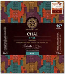 Bean to Bar Milk Chocolate Chai Spice 60%