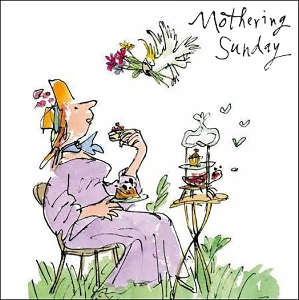 Quentin Blake Mothering Sunday Card