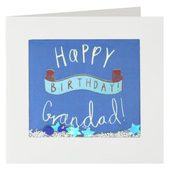 Happy Birthday Grandad Shakies Card