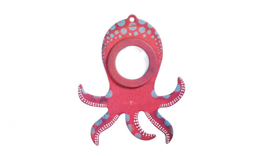 Magnifying Eye Octopus