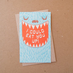 I Could Eat You Up Card