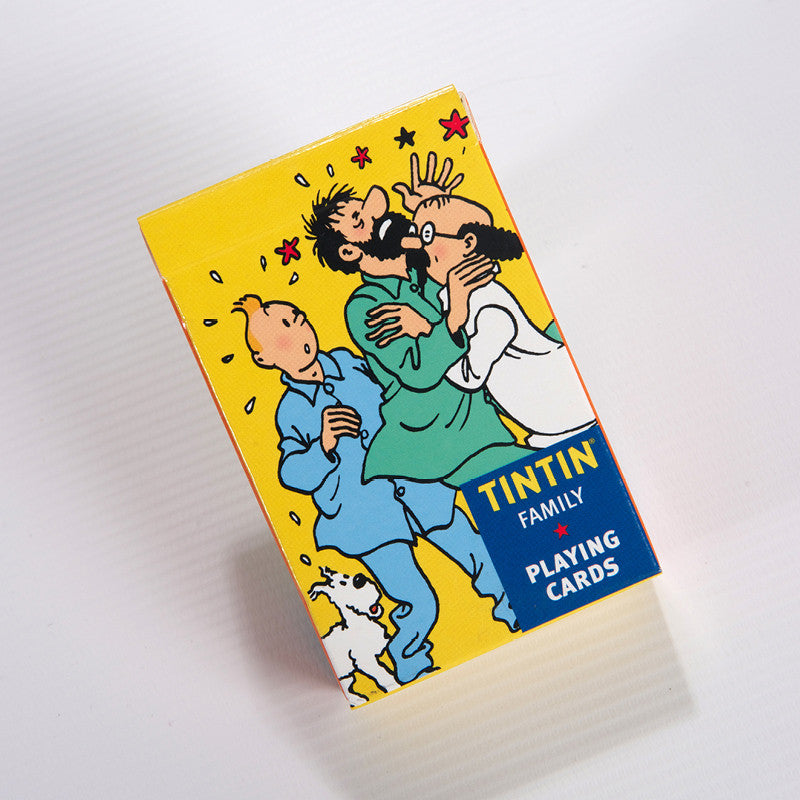 Tintin Family Playing Cards