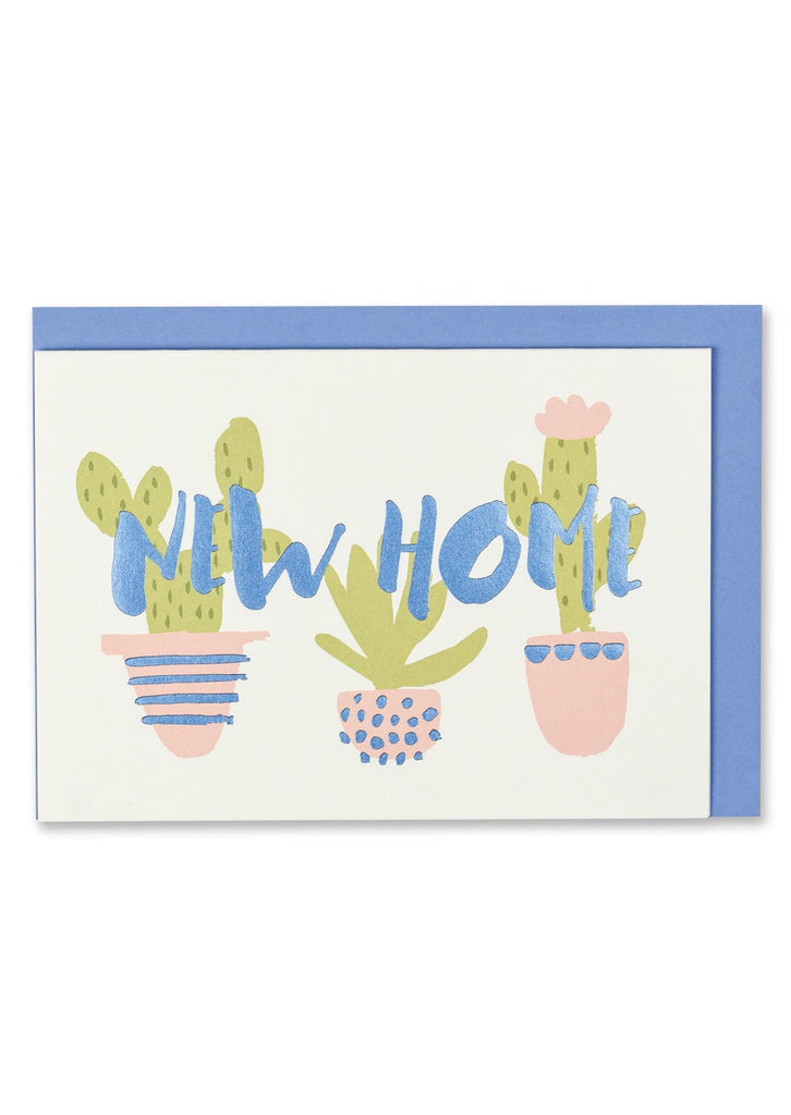 New Home Cactus Card