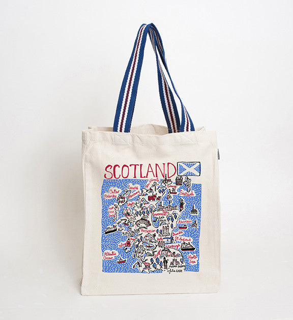 Scotland Print Tote Bag