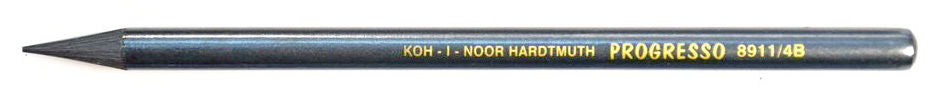 4B Koh-I-Noor Woodless Graphite Pencil
