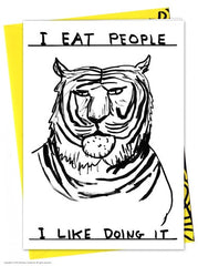 I Eat People Card