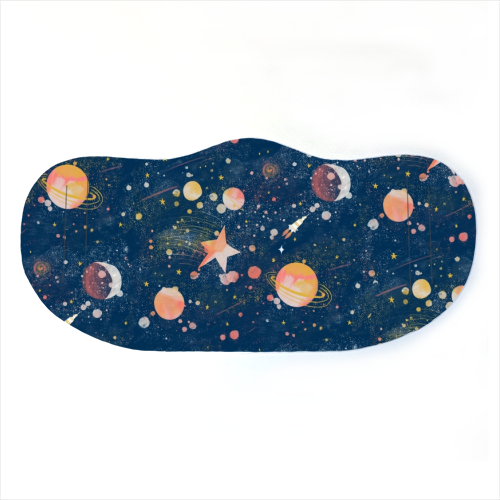 Painted Space Face Mask