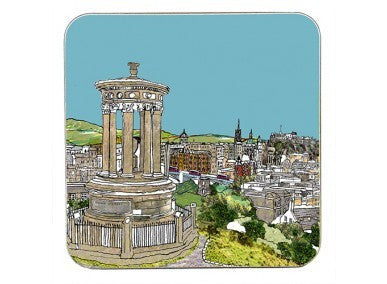 Calton Hill Edinburgh Coaster