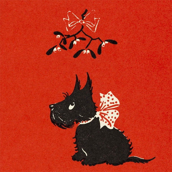 Christmas Scottie Pack of Cards