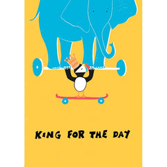 Morag Hood The Steves King for a Day Birthday Card