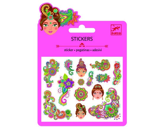 Indian Design Stickers