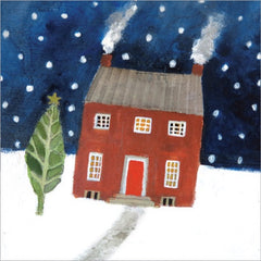 Home for Christmas Pack of 5 Christmas Cards