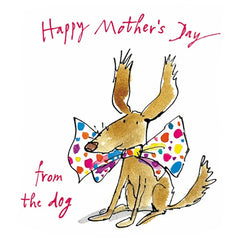 Quentin Blake Happy Mother's Day from the Dog Card