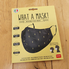 What A Mask! Reusable Face Mask - Flash Design
