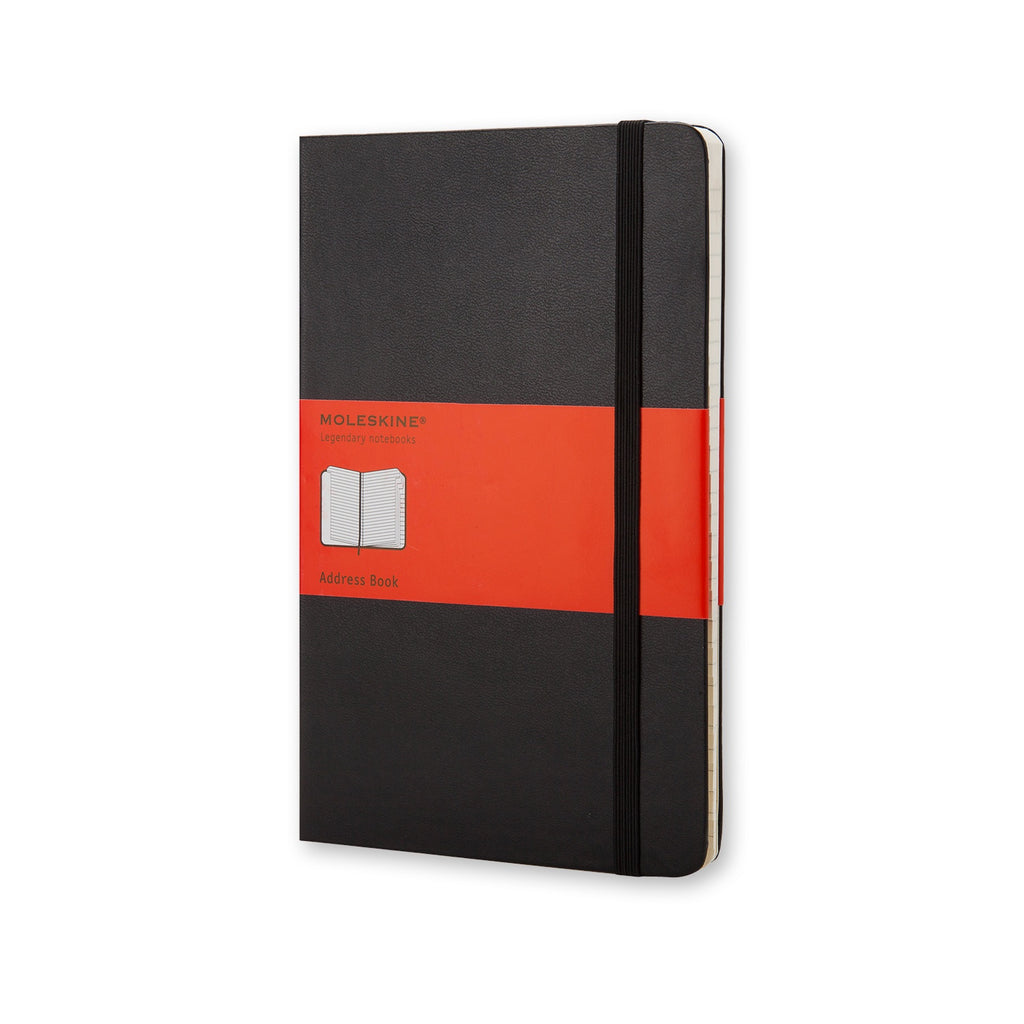 Moleskine Pocket Address Book Black