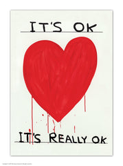 It's Ok, It's Really Ok Postcard