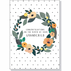 Congratulations Card - Birth of Grandchild