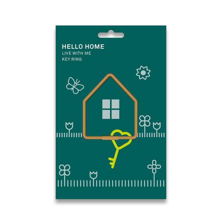 Hello Home Key Ring