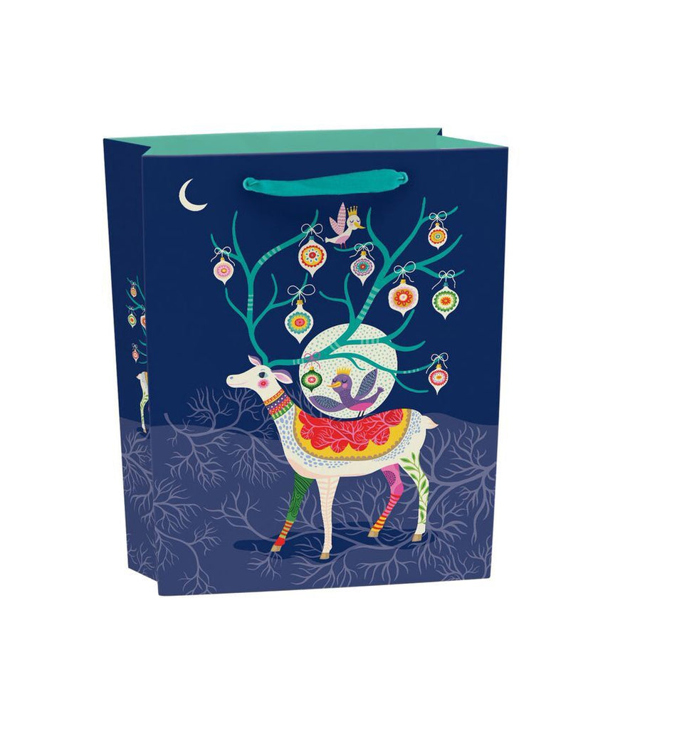 Enchanting Reindeer Medium Gift Bag