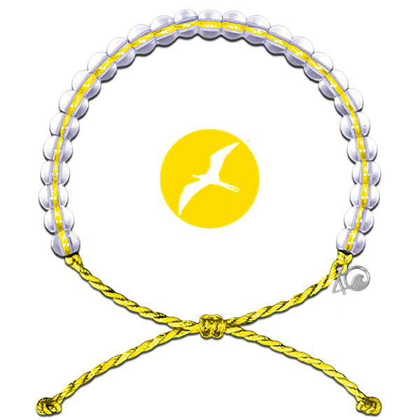 4Ocean Seabirds Yellow Bracelet