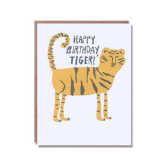 Happy Birthday Tiger! Card