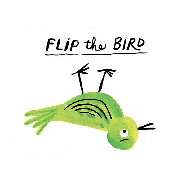 Flip the Bird Postcard