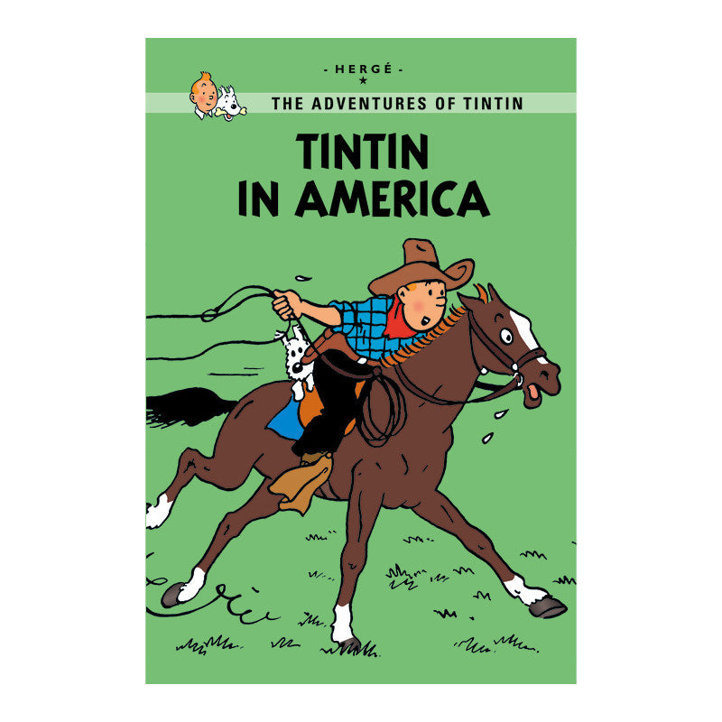 Tintin Young Reader: Tintin In America