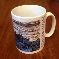 Edinburgh Castle Sketch Mug