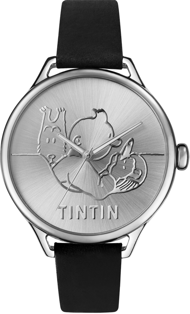 Tintin Watch - Classic Car - Stainless Steel and Black