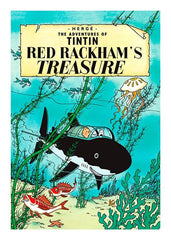 Red Rackham's Treasure Tintin Postcard